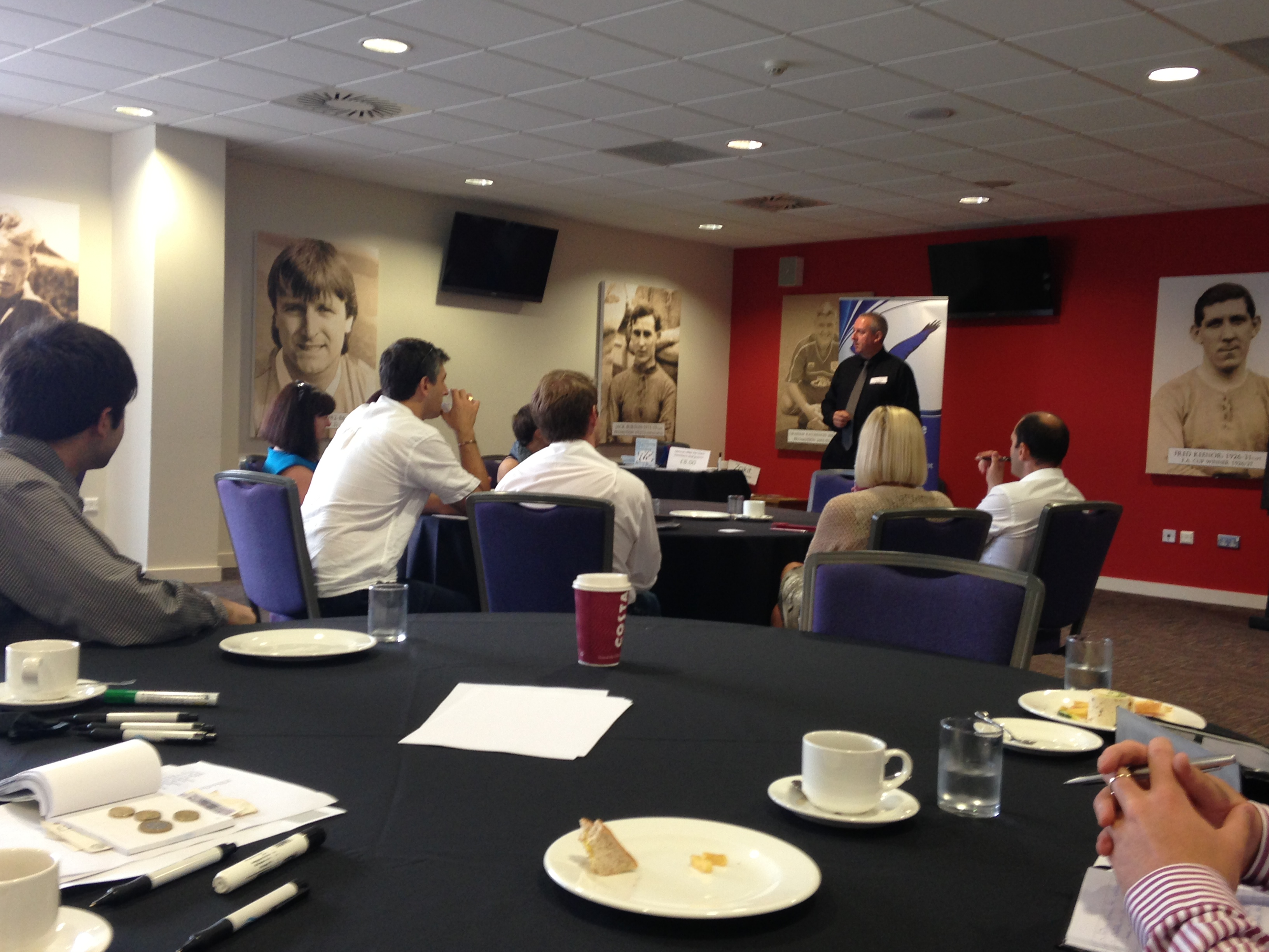 Networking Skills Cardiff City Stadium