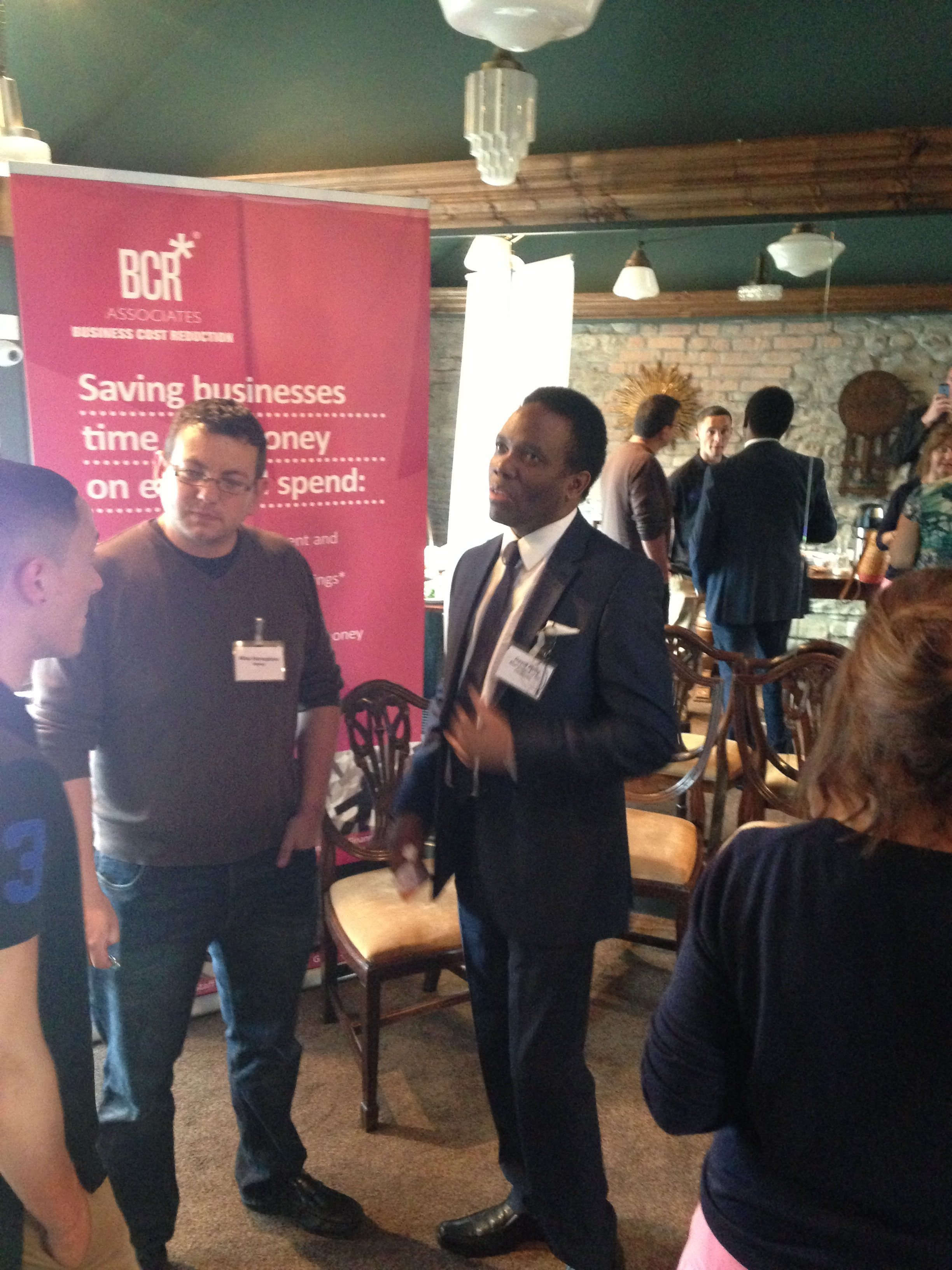 Networking evet sponsored by BCR Associates