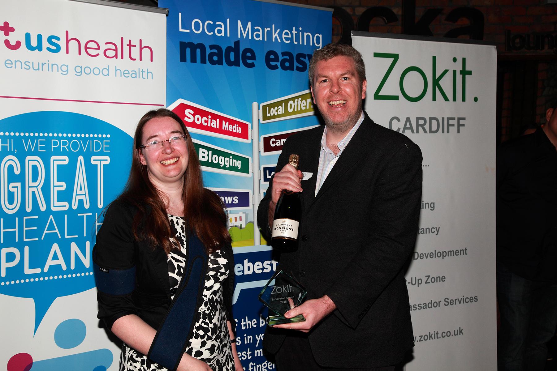 Zokit Award Winner Jodie Read Penarth Management