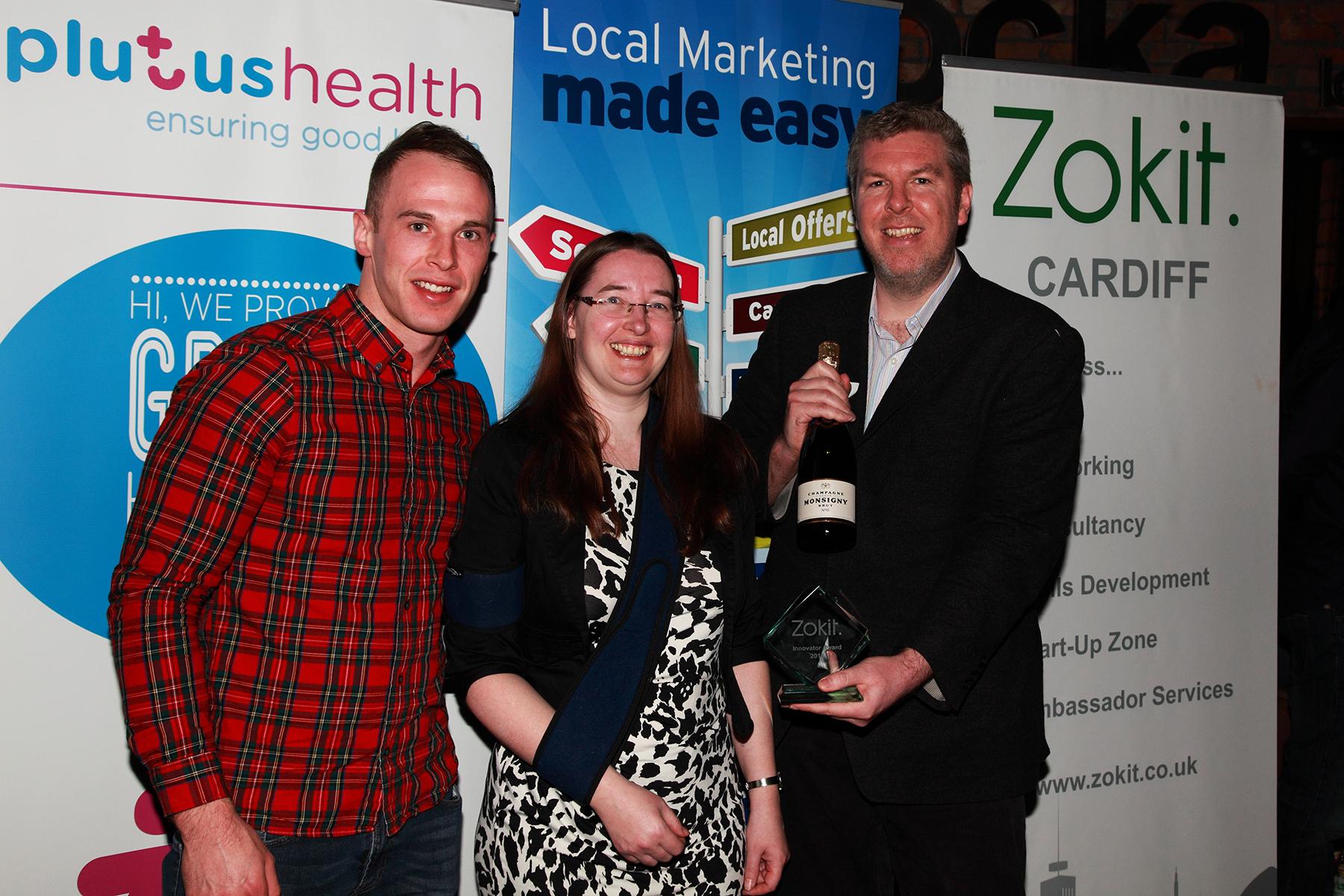 Zokit Awards Penarth Management Jodie Read