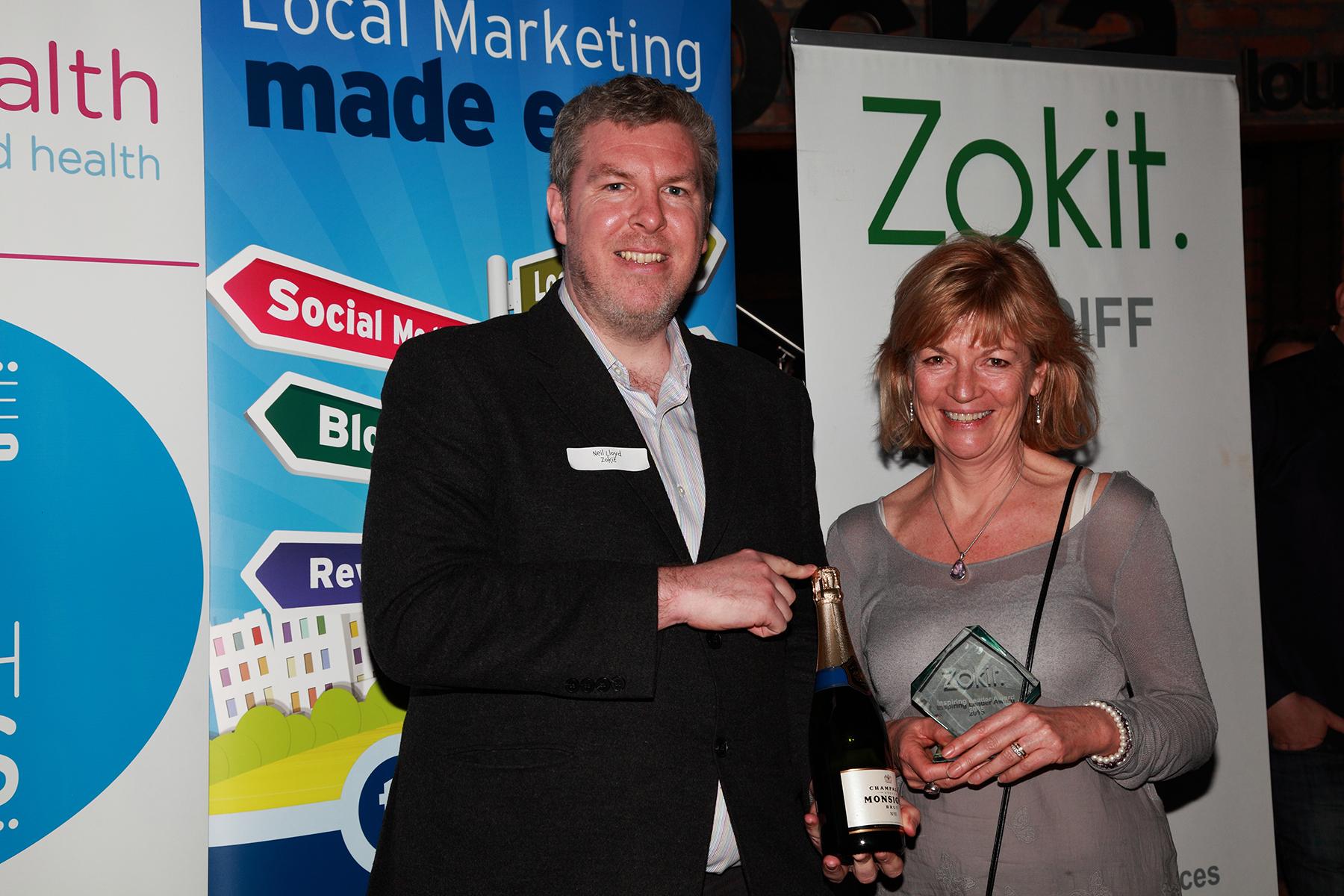 Zokit Awards Winner Jane Hafren