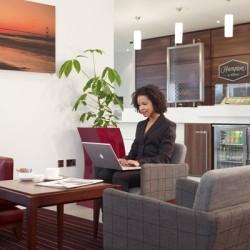 Hampton lounge laptop