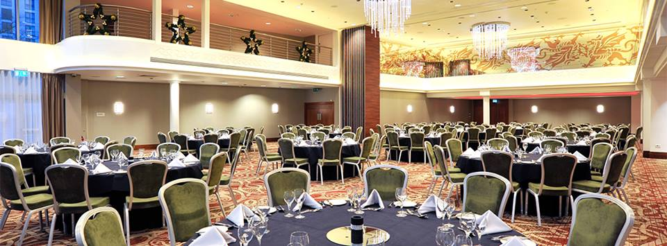 The Ballroom can host up to 700 guests