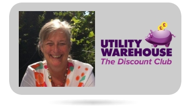 Avril Carter Utility Warehouse Distributor South Wales