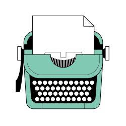smart desk typewriter 1250